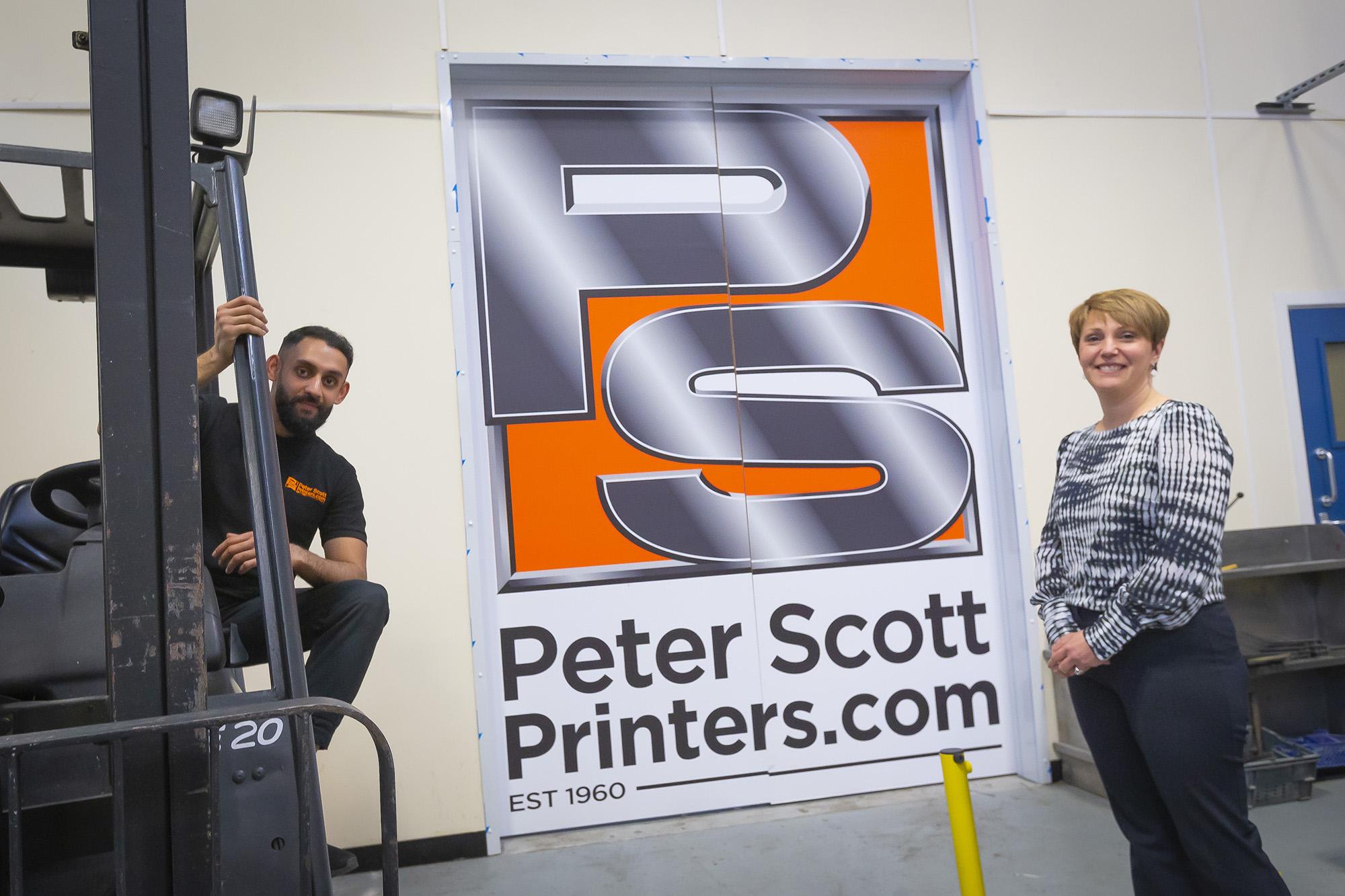 Peter Scott Printers: Training the Next Generation