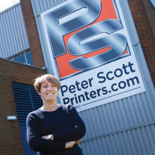Joanne Hindley - Managing Director at Peter Scott Printers