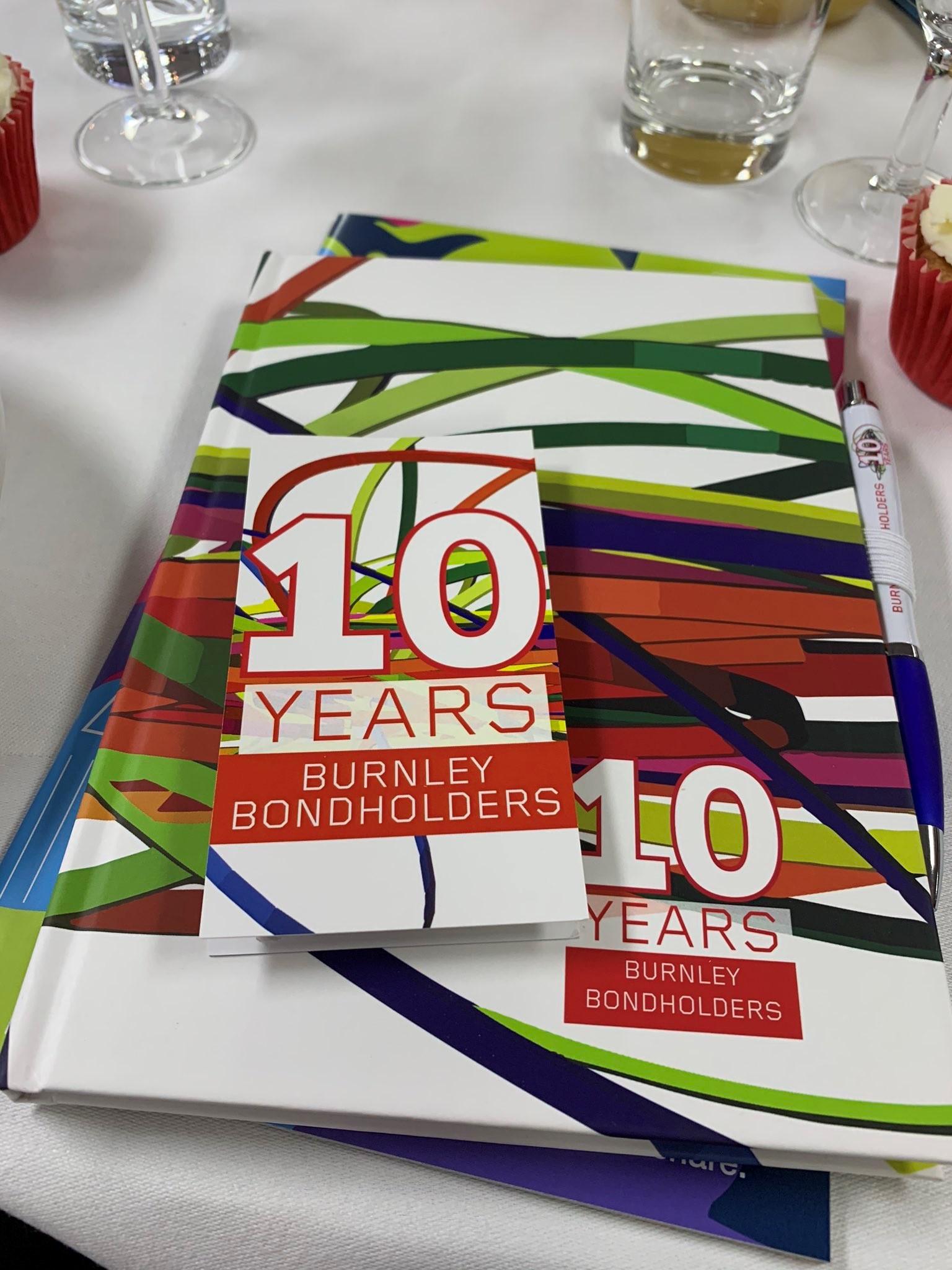 Burnley Bondholders 10 Years